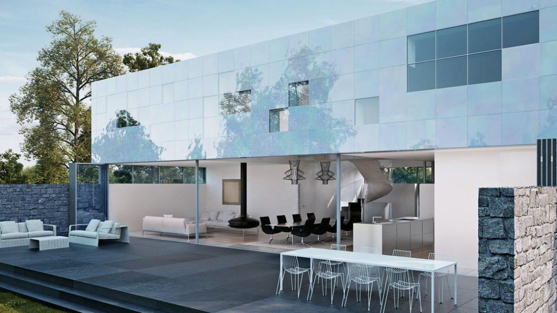 Small minimal house on paterson hill pereti mobili for Minimal home mobili